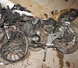 Busco: Compro moto chocada para desarme