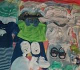 Lote de ropa niño desde 0 a 12 meses