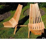 Sillas madera terraza, modelo Kentucky