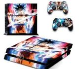 Skin Ps4 Fat Dragonball Consola+2 Skin Controles