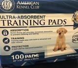 Almohadillas de entrenamiento AKC, 100 unidades