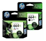 Tinta Hp 664 XL Negro Y Color - Toner Original