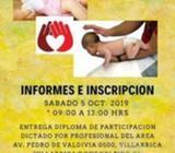Taller de primeros auxilios en niños y bebes
