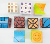 Pack 9 cubos rubik