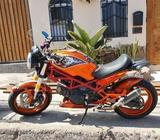 Moto ducati 2007.modelo 695cc. modificada