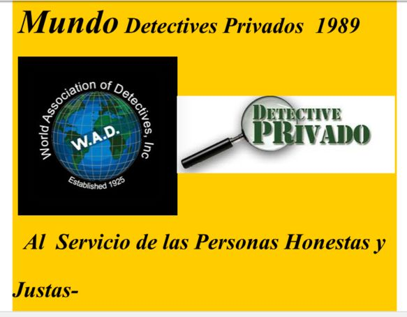 Mundo Detectives  Privados  1989 Chile