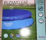 Cobertor piscina best way flowclear 3.66 nueva