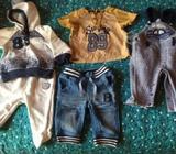 Lote de ropa de niño black and blue de 0- 3 meses