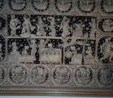 Espectacular tapiz kalagas birmano