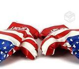 Guantes de Boxeo Para Niños Diseño Bandera USA