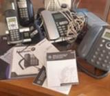 Tres telefonos Inalambricos, 2 Finos + D-Link