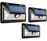 Foco Solar 32 Led Sensor Movimiento, 3 unides