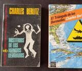 Dos libros de Charles Berlitz
