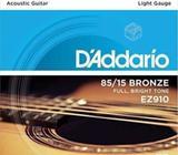 D'addario sets ez910 - guitarra acustica