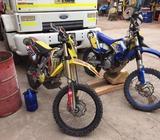 moto Suzuki RMX 450CC
