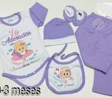 Ajuares de bebé en algodón pima