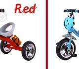 Triciclo Chinita Musical Infantil Rojo y Azul